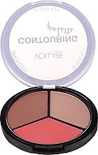 Парфюмерия и Козметика Палитра за контуриране - Vollare Cosmetics Contouring Palette Bronzer, Shimmer, Blusher