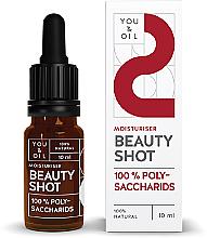 Парфюмерия и Козметика Хидратиращ серум за лице - You & Oil Beauty Shot Polysaccharids / Moisturiser Face Serum
