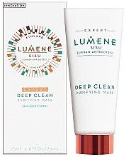 Парфюмерия и Козметика Дълбоко почистваща маска за лице - Lumene Sisu Expert Deep Clean Purifying Mask