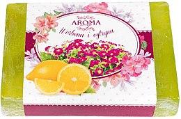 """Парфюми, Парфюмерия, козметика Сапун """"Върбинка и лимон"""" - Delicate Organic Aroma Soap"""