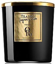Парфюми, Парфюмерия, козметика Ароматна свещ - Teatro Fragranze Uniche Luxury Collection Oro Scented Candle