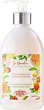 Парфюмерия и Козметика Течен сапун с масло от кокос и аромат на портокал - Institut Karite So Garden Collection Privee Orange Blossom Marseille Liquid Soap