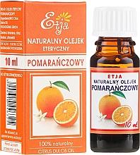 Парфюмерия и Козметика Етерично масло от портокал - Etja Natural Citrus Dulcis Oil