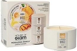 Парфюми, Парфюмерия, козметика Ароматна свещ - House of Glam Mango Delight Candle