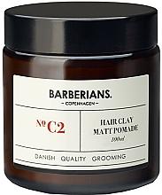 Парфюмерия и Козметика Глинена помада за коса - Barberians. №C2 Hair Clay Matt Pomade