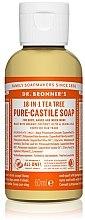 """Парфюми, Парфюмерия, козметика Течен сапун """"Чаено дърво"""" - Dr. Bronner's 18-in-1 Pure Castile Soap Tea Tree"""