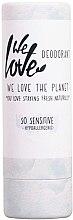 Парфюмерия и Козметика Дезодорант стик за чувствителна кожа - We Love The Planet So Sensitive Deodorant Stick