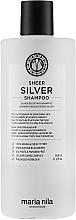 Парфюмерия и Козметика Шампоан против жълти оттенъци на косата - Maria Nila Sheer Silver Shampoo