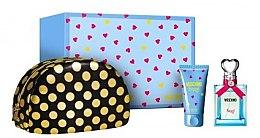Парфюми, Парфюмерия, козметика Moschino Funny - Комплект (edt/50ml + b/lot/50 + bag)