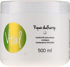Парфюмерия и Козметика Възстановяваща маска за коса за 60 секунди - Stapiz Vital Repair Dual Hairtip 60s Mask