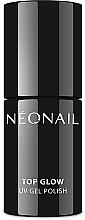 Парфюмерия и Козметика Топ за гел лак - NeoNail Professional UV Gel Polish Top Glow Sparkling