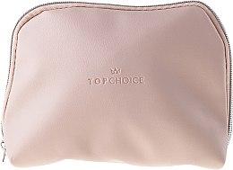 "Парфюми, Парфюмерия, козметика Козметична чантичка ""Leather"", 96976, бежова - Top Choice"