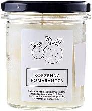 Парфюми, Парфюмерия, козметика Свещ с аромат на портокал - Hagi