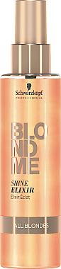 Еликсир за коса придаващ блясък - Schwarzkopf Professional Blondme Shine Elixir