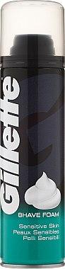 Пяна за бръснене - Gillette Sensitive Skin Foam — снимка N1
