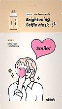 Парфюмерия и Козметика Двуфазна изсветляваща маска за лице - Skin79 Brightening Selfie Mask