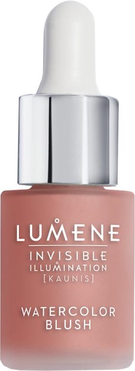 Течен руж - Lumene Invisible Illumination Watercolor Blush