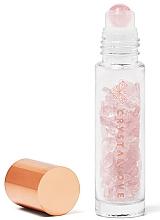 Парфюмерия и Козметика Бутилка с кристали от розов кварц, 10 мл - Crystallove