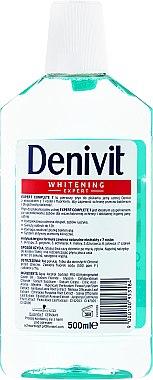Антибактериална вода за уста - Denivit Whitening Expert Complete 7 Mouthwash — снимка N2