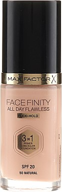 Фон дьо тен - Max Factor Facefinity All Day Flawless 3-in-1 Foundation SPF 20