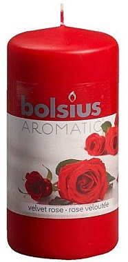 """Ароматна свещ """"Роза"""", 120/60 мм - Bolsius Candle — снимка N1"""