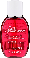 Парфюмерия и Козметика Clarins Eau Dynamisante - Спрей дезодорант