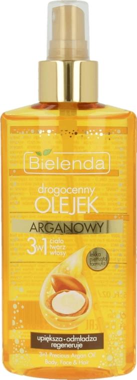 Арганово масло 3в1 за тяло, лице и коса - Bielenda Drogocenny Olejek