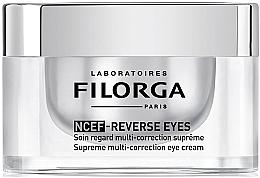 Парфюмерия и Козметика Мултикоригиращ околоочен крем - Filorga NCEF-Reverse Eyes