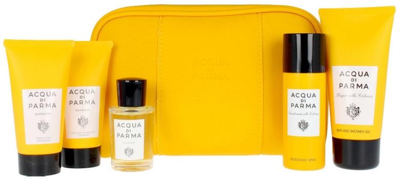 Acqua Di Parma Colonia - Комплект (edc/20ml + sh/gel/75ml + deo/50ml + sh/cr/40ml + aft/sh/cr/40ml + bag)