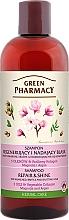 """Парфюмерия и Козметика Шампоан за коса """"Възстановяване и блясък"""" - Green Pharmacy"""