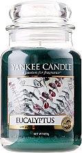 "Ароматна свещ в бурканче ""Евкалипт"" - Yankee Candle Eucalyptus — снимка N1"