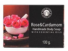 Парфюмерия и Козметика Сапун с роза и кардамон - Song of India Soap Rose & Cardamon