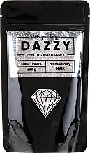 Парфюмерия и Козметика Озаряващ кокосов пилинг за лице и тяло - Dazzy Coconut Face & Body Peeling Diamond