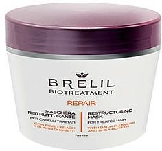 Парфюмерия и Козметика Възстановяваща маска за коса - Brelil Bio Treatment Repair Mask