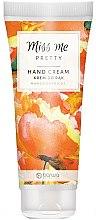"""Парфюми, Парфюмерия, козметика Хидратиращ крем за ръце """"Манго и кайсия"""" - Barwa Miss Me Pretty Mango & Apricot"""
