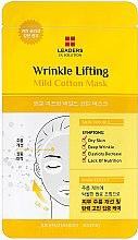 Парфюми, Парфюмерия, козметика Маска за лице против бръчки - Leaders Ex Solution Wrinkle Lifting Mild Cotton Mask