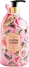 Парфюмерия и Козметика Течен сапун за ръце - IDC Institute Scented Garden Hand Wash Country Rose