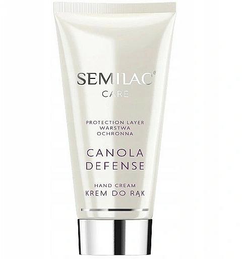 Защитен крем за ръце - Semilac Canola Defense Hand Cream — снимка N1