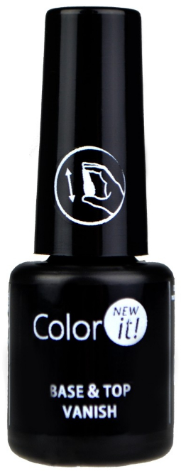 База-топ за нокти 2 в 1 - Silcare Color It Base Top Coat 2 in 1