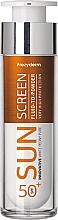 Парфюмерия и Козметика Слънцезащитен флуид за лице - Frezyderm Sun Screen Vitamin D Like Skin Benefits Fluid to Powder SPF50+