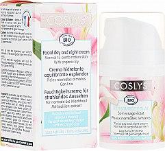 Парфюмерия и Козметика Дневен крем за лице с екстракт от лилия, за нормална и комбинирана кожа - Coslys Facial Care Facial Day CreamWith Lily Extract