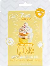 """Парфюмерия и Козметика Маска за лице """"Cupcake"""" с банан и ванилия - 7 Days Candy Shop"""
