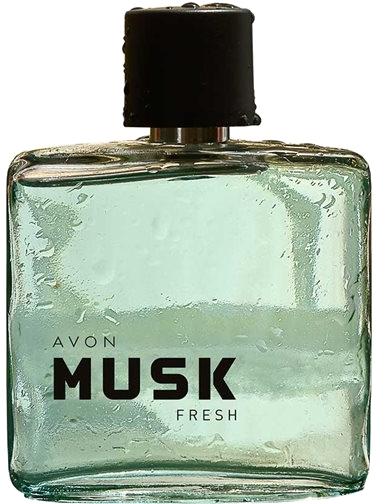 Avon Musk Fresh - Тоалетна вода — снимка N1