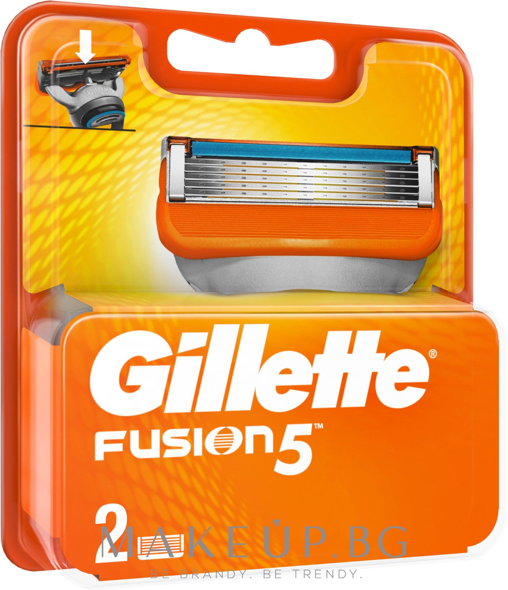 Ножчета за бръснене - Gillette Fusion — снимка 2 бр