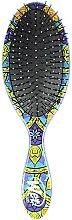 Парфюмерия и Козметика Четка за коса - Wet Brush Detangle Professional Mosaic Blue