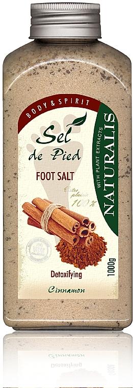 Солева ваничка за крака - Naturalis Sep de Pied Cinnamon Foot Salt