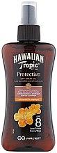 Парфюмерия и Козметика Сухо масло за тен - Hawaiian Tropic Protective Dry Oil Spray SPF 8