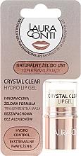Парфюмерия и Козметика Хидратиращ гел за устни - Laura Conti Crystal Clear Hydro Lip Gel