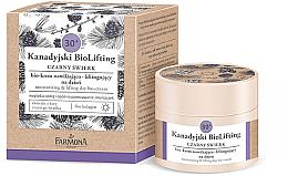 Парфюми, Парфюмерия, козметика Дневен лифтинг крем за лице 30+ - Farmona Canadian BioLifting Black Spruce