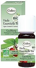 Парфюмерия и Козметика Органично етерично масло от малка мурава - Galeo Organic Essential Oil Gaultherie